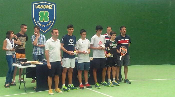 Campeonato de Euskadi de menores en club Laukariz