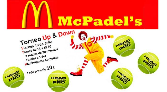 McPadel's Torneo Up y Down en Pádel Bizkaia