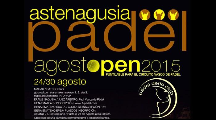 Open Aste Nagusia 2015 en Pádel Derio