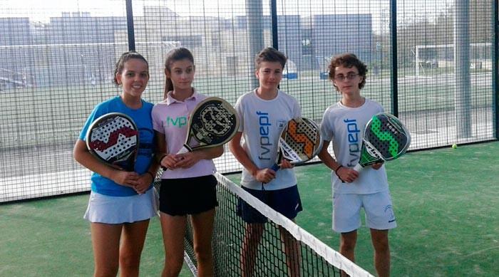 Alumnos de Pádel Derio finalistas en el Tornero San Fausto de Durango
